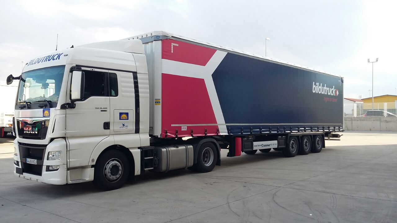 camion de Bildutruck